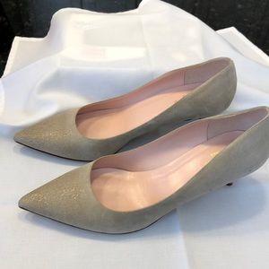 Kate Spade Vero Cuoio suede pumps Size 9.5 B